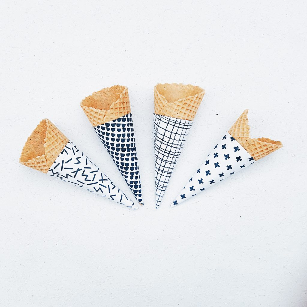 Eistüten-Wrapper