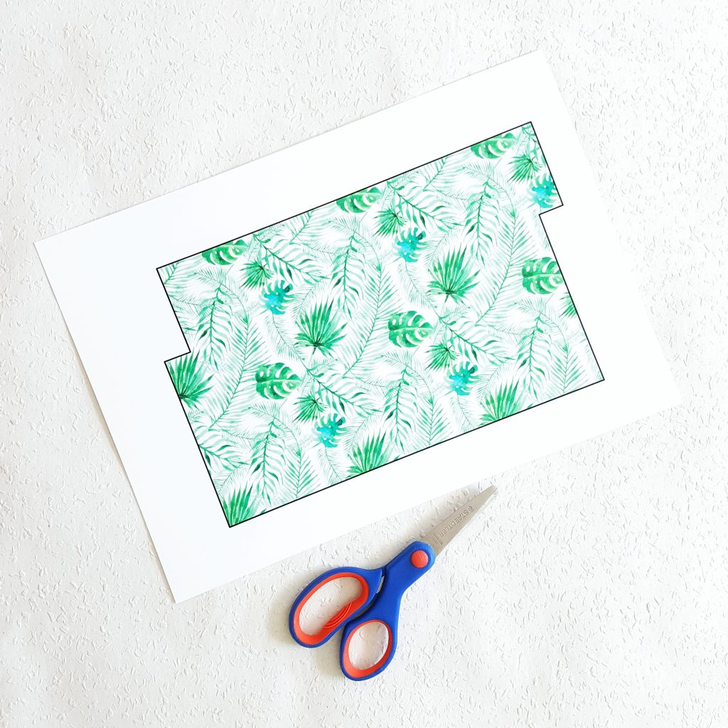 tropische Minimappen