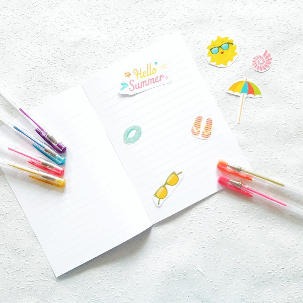 Sommerjournal für Kinder
