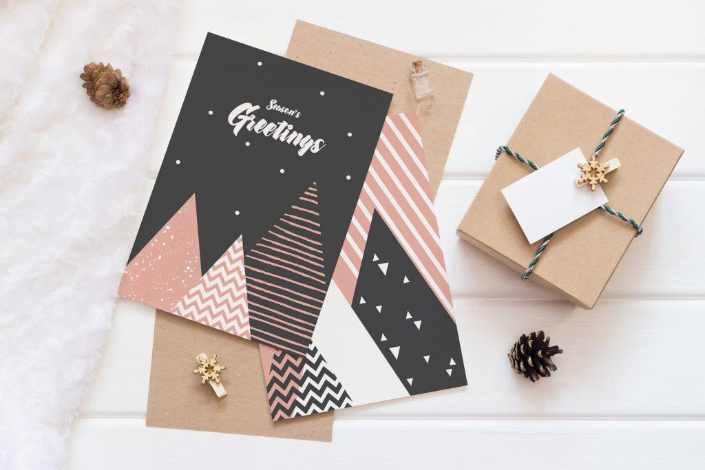 Weihnachtskarten zum gratis Download