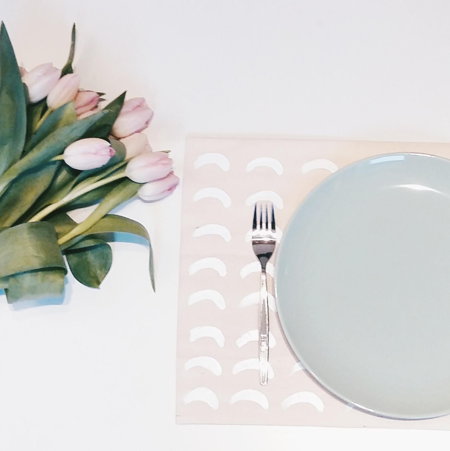 DIY Bemalte Tischsets
