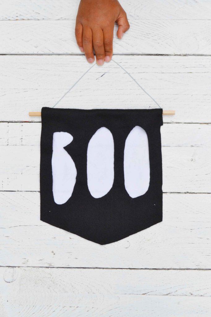Halloween Deko - Boo-Banner