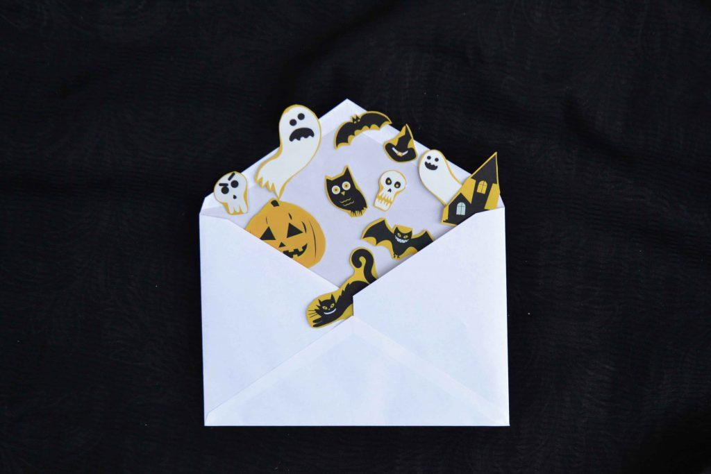 Halloween-Sticker