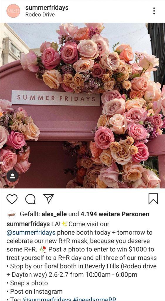 UGC Instagram