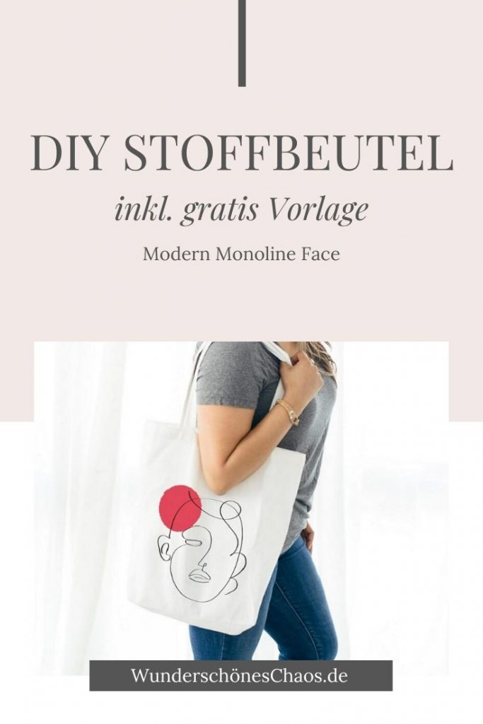 DIY Stoffbeutel inkl. Vorlage