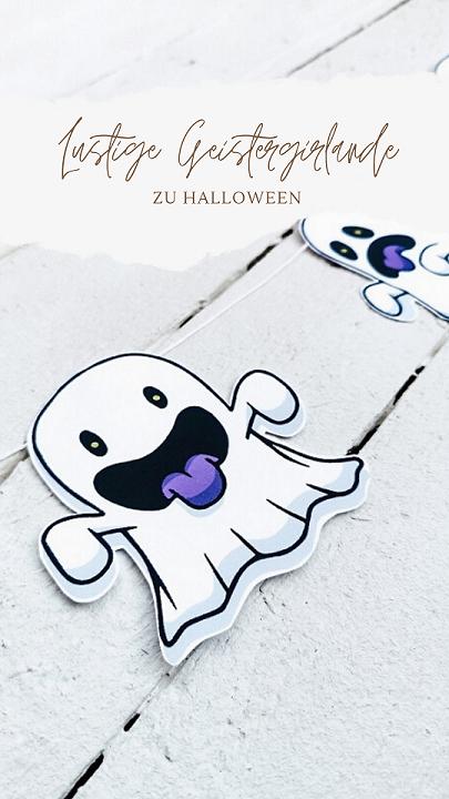 Geistergirlande Halloween