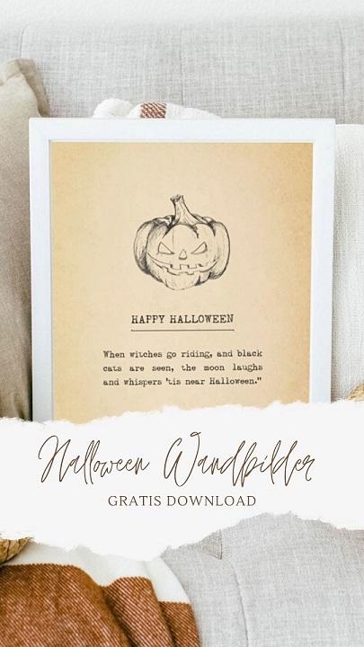 Halloween Wandbilder