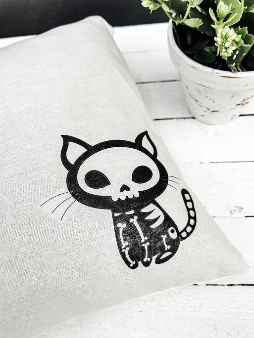 Katzenkissen Halloween