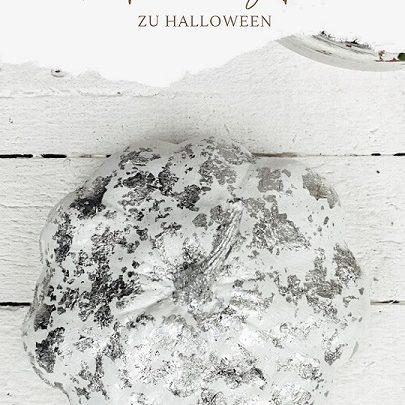 Kürbis Silber zu Halloween
