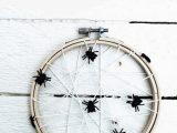 Spinnennetz Halloween