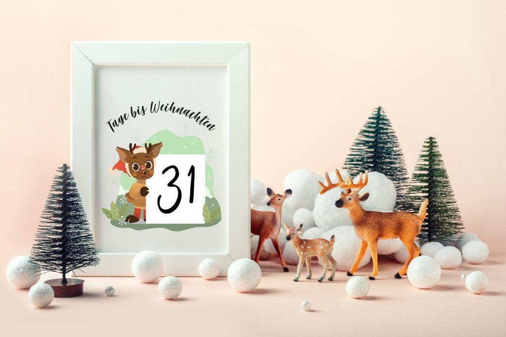 Tage bis Weihnachten